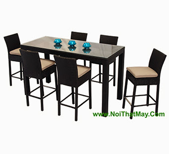 Outdoor Wicker Bar Set Minh Thy 801