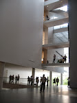 Inside MoMA - I think I liked the architecture and design of the museum itself more than most of the art inside