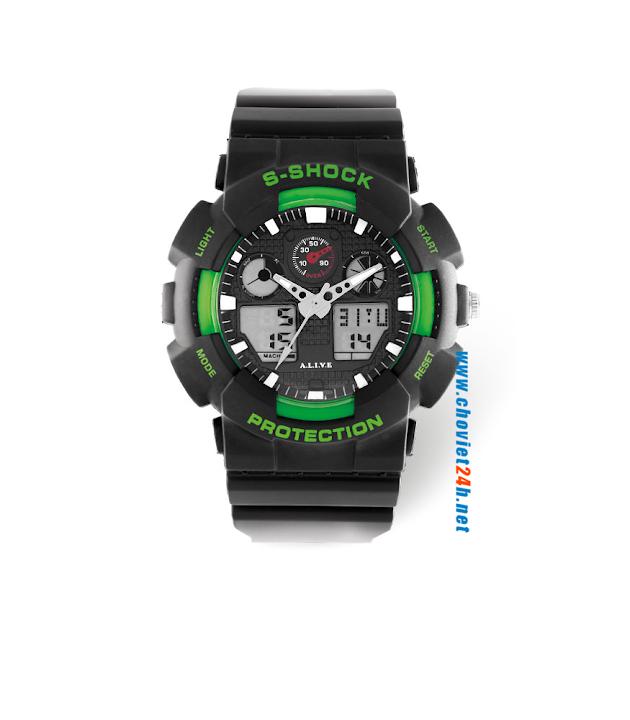 Đồng hồ nam thể thao Sophie Cruzz - GPU344
