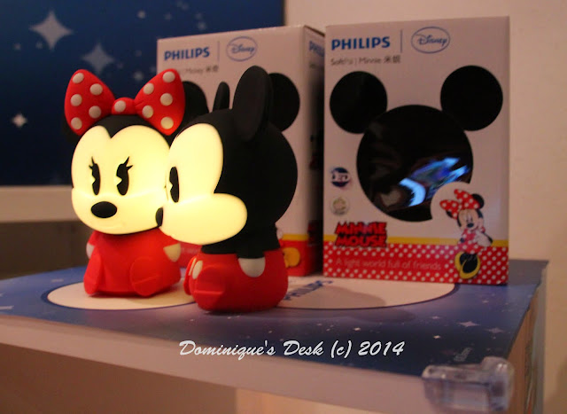 Mickey & Minnie Softpal LED Night Lights