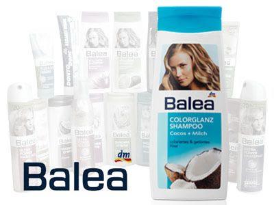 Шампунь Balea окрашенных и слабых волос