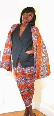ankara styles, suit