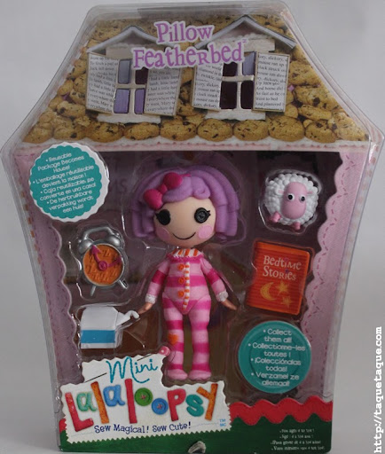mini Lalaloopsy Pillow Featherbed en su caja