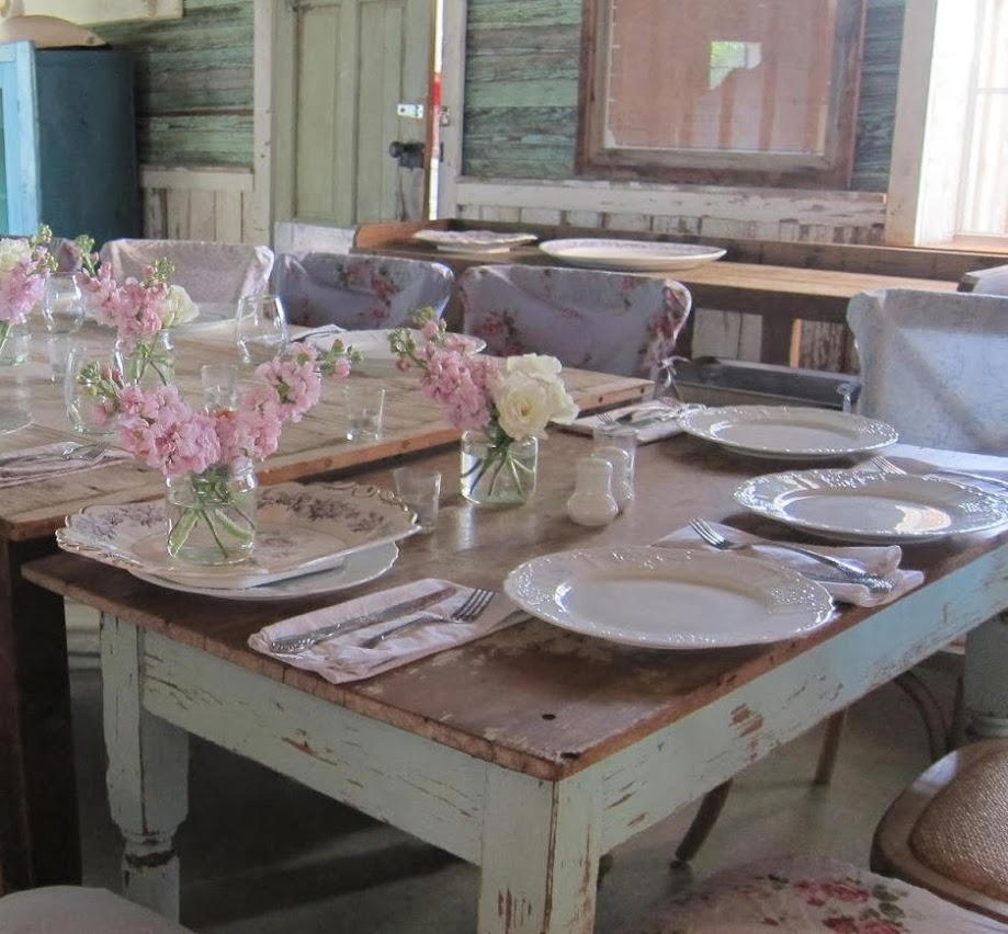 Comedores Shabby Chic. Buffet Shabby Chic. Shabby Chic Kitchen Table ...