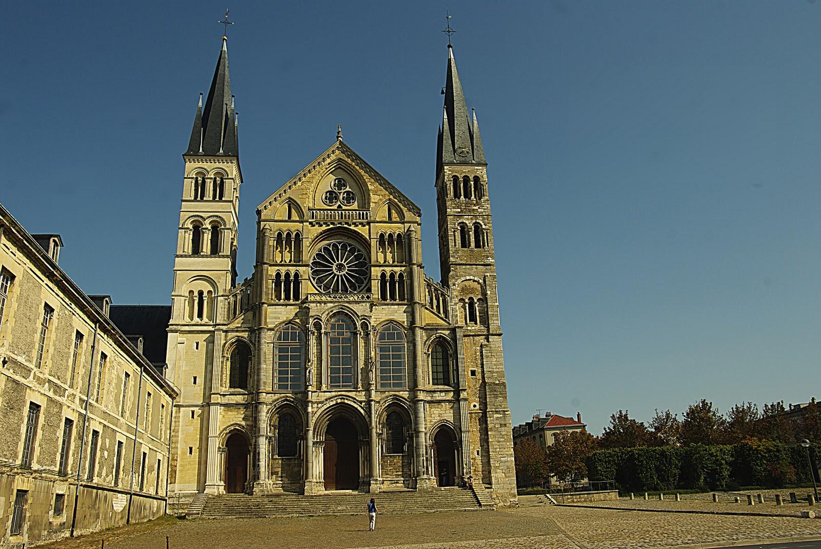 Reims basilique saint r mi art roman nord et est de la france - Basilique st remi reims ...