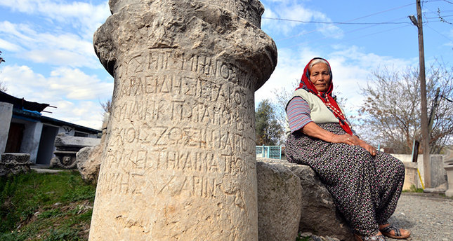 Near East: Turkish villager issued permit to display Graeco-Roman artefacts in her garden