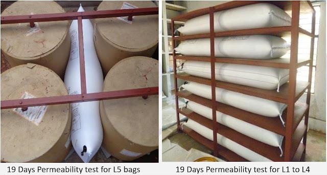 Túi khí lót hàng trong container