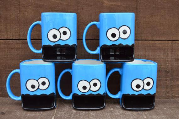 * Cookie Monster Mug:午茶趴呢非他莫屬 2