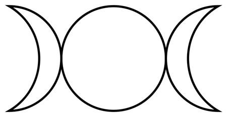 Triple Goddess Symbol Image