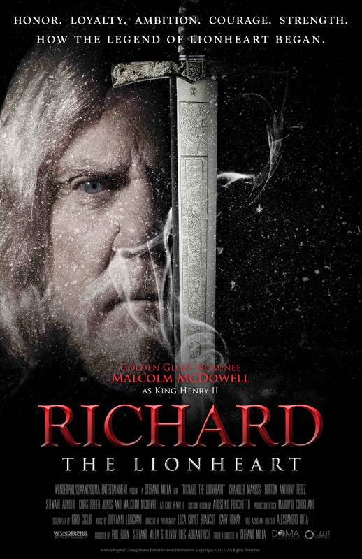 Poster Of English Movie Richard The Lionheart (2013) Free Download Full New Hollywood Movie Watch Online At Alldownloads4u.Com