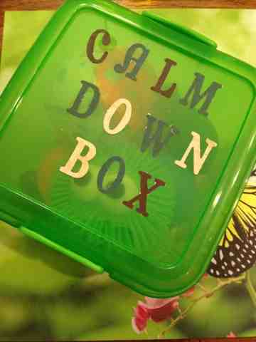 Image result for calm down box