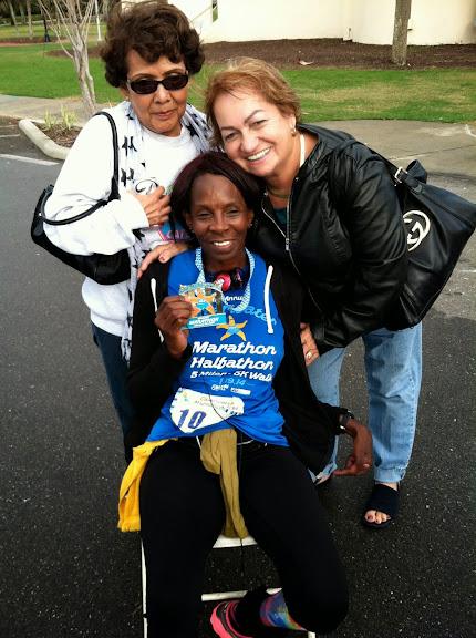 Lois Huyghue, Marathoner