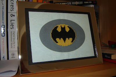 Batman cross-stitch