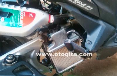 Cara Tambah Air Radiator Coolant Vario Injeksi 125cc