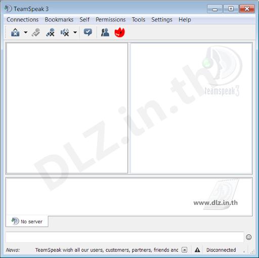 ดาวน์โหลด TS3 TeamSpeak 3 (32/64 bit) โหลดโปรแกรม TeamSpeak ล่าสุดฟรี