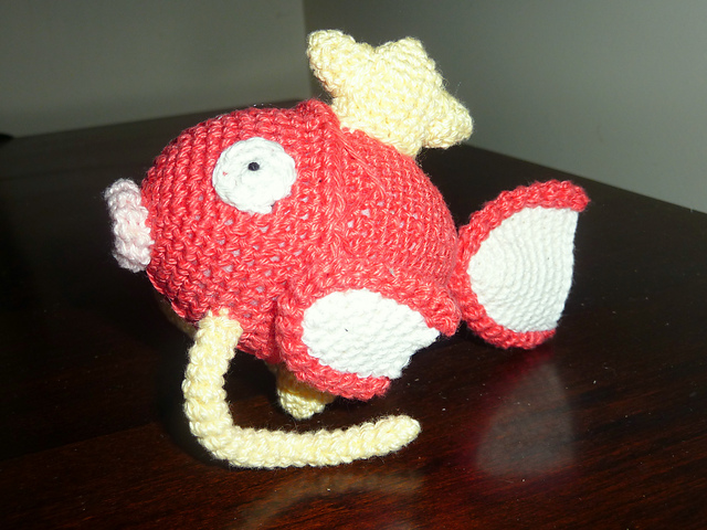 2000 Free Amigurumi Patterns: Magikarp Amigurumi pattern
