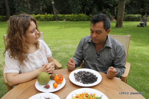 Chef Nelson Méndez (Shaman) junto a Luz Divina Merchán (Quelujo.es)