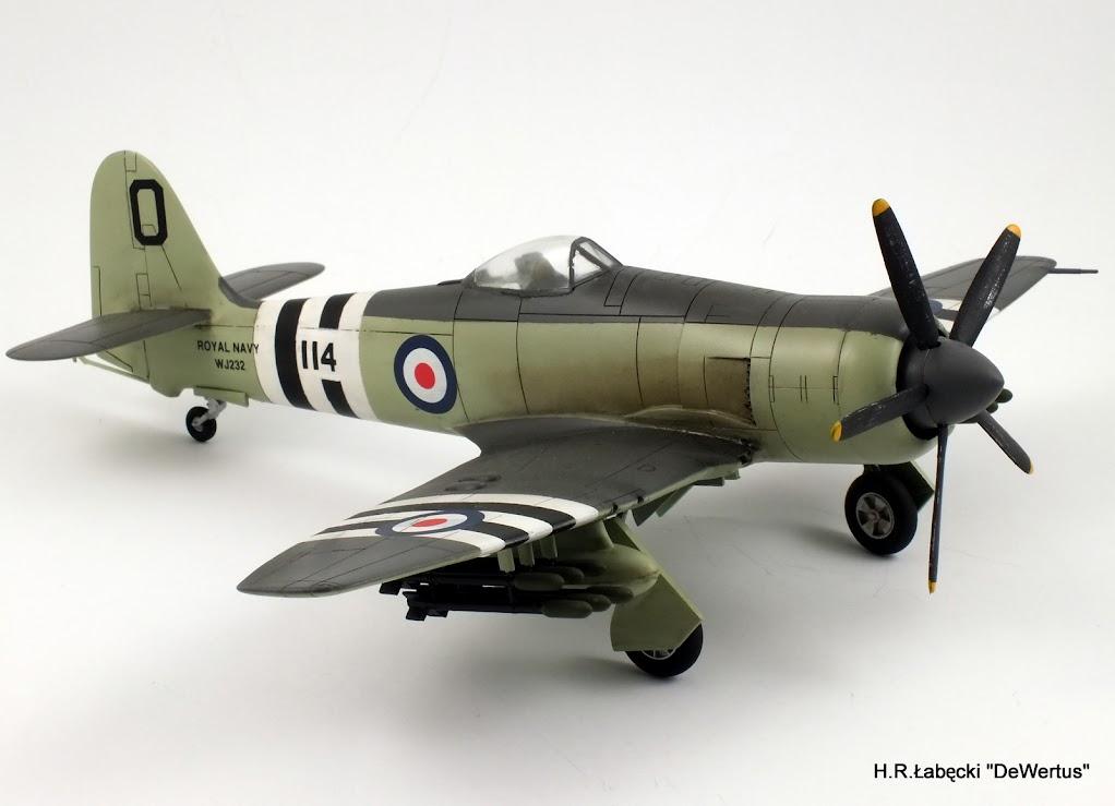 Korea 1950-53; Sea Fury FB.11, KITECH 1/48 DSCF3952