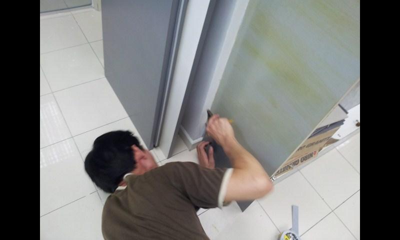 lamination for cabinet door