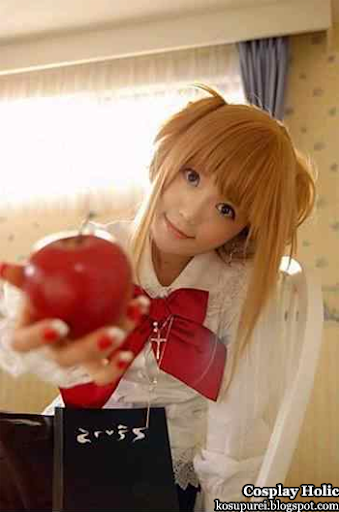 death note cosplay - amane kisa