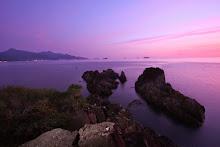 บรรยากาศพระอาทิตย์ตกน้ำที่แหลมไชยเชษฐ์ - ไปเที่ยวเกาะช้าง จังหวัดตราด credit : คุณ EBOLAS จาก http://ebolas.thaimultiply.com/