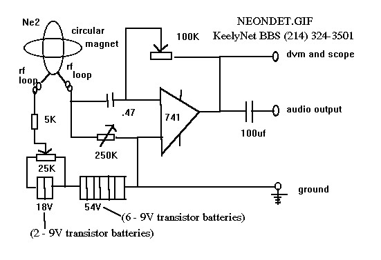 The Schematic Neondetgif Is A Derivative Of A Microwave Detector