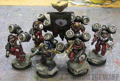 Flesh Tearer squad with jump packs