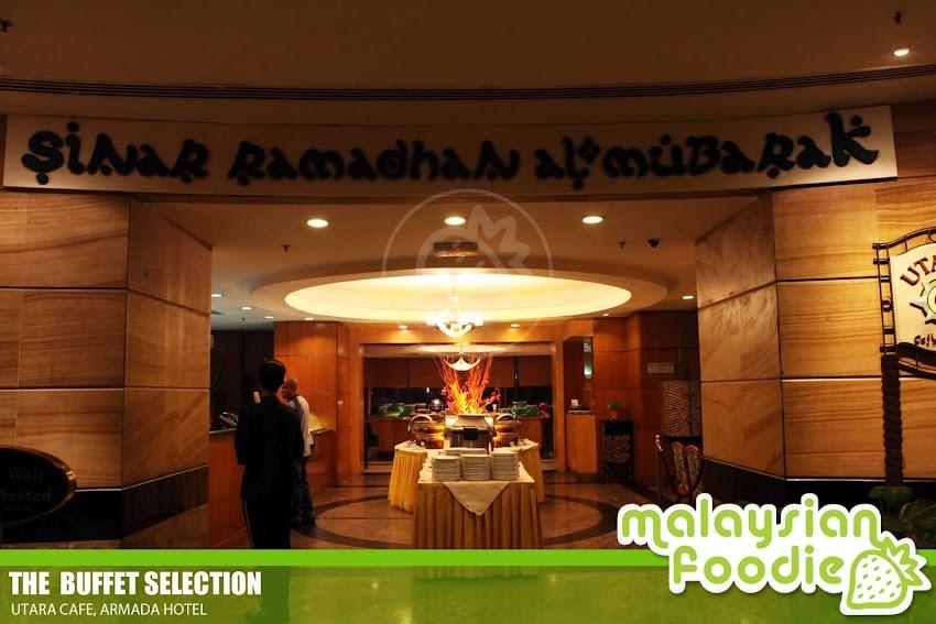SINAR RAMADHAN AL MUBARAK AT UTARA CAFÉ, HOTEL ARMADA