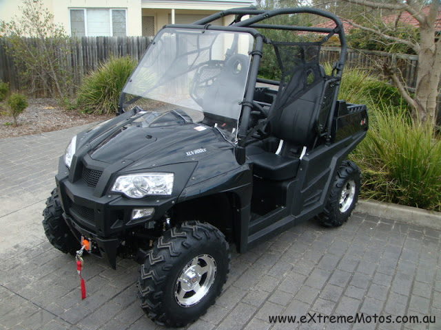 800cc Strike Hisun PQV-800 XUV Farm Sports UTV Utility Vehicle Side by side Black