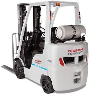 Xe nâng chạy gas Nissan
