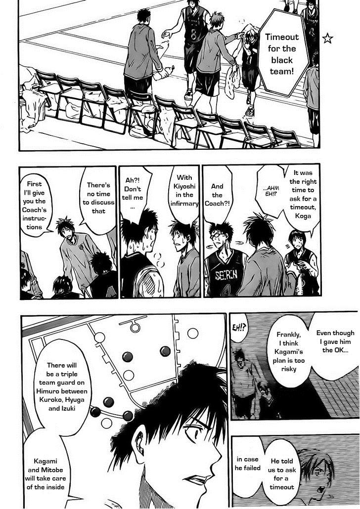 Kuroko no Basket Manga Chapter 163 - Image 02