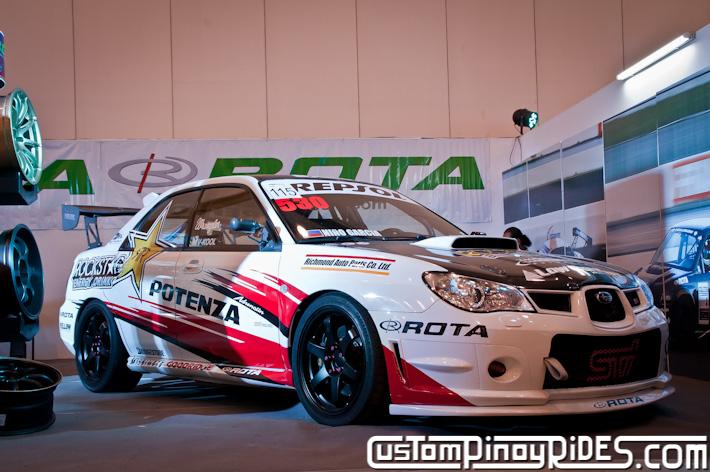 Nino Garcia Subaru Impreza STi Rota Wheels Custom Pinoy Rides