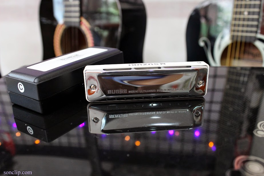 Kèn Harmonica - Suzuki Ultra Bend SUB30 (key C)