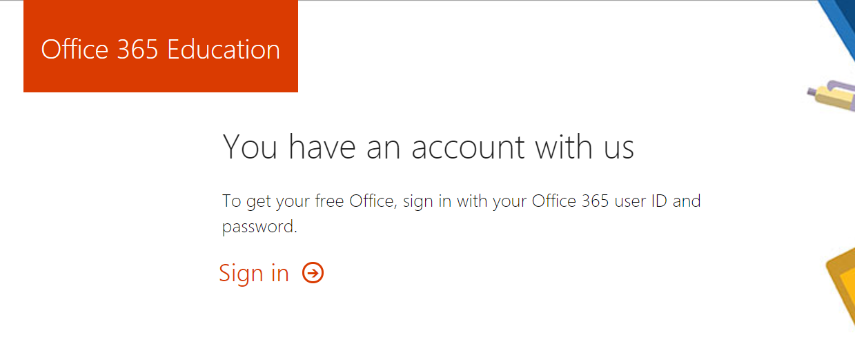Office365 SignIn