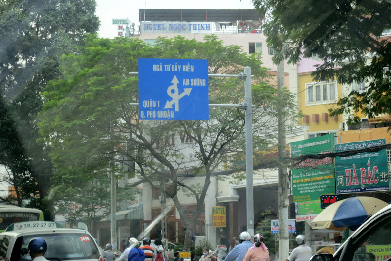HCMC traffic sign