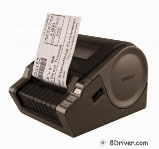 Download Brother QL-1050 printer's driver, understand the right way to install