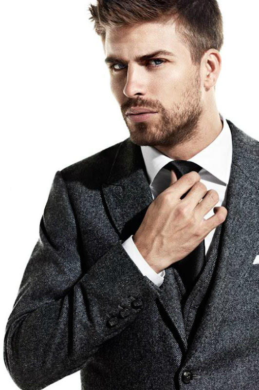 Gerard Piqué by Francesco Carrozzini for H.E. by Mango F/W 2011-12