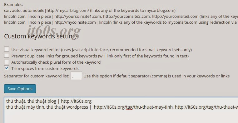 Cách SEO từ khóa bài viết trong Wordpress tự động 4