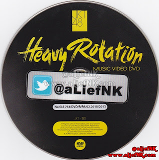 JKT48 Heavy Rotation Type-A | Music Video DVD [image by @aLiefNK]