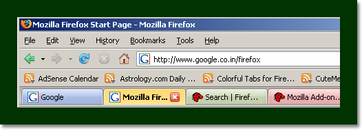 ColorfulTabs For Firefox