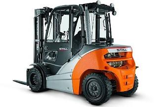 Xe nâng diesel 4 - 5 tấn