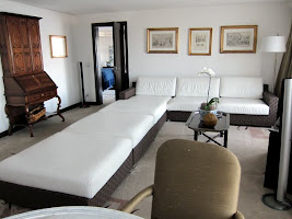 Suite at the Sofitel hotel in Rio de Janeiro Brazil