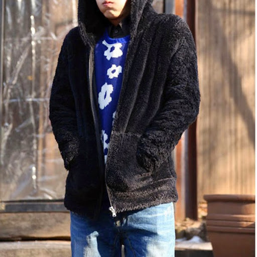 Arrival Men Fashion Hairy Hoodied Cardigan For Youth Fo