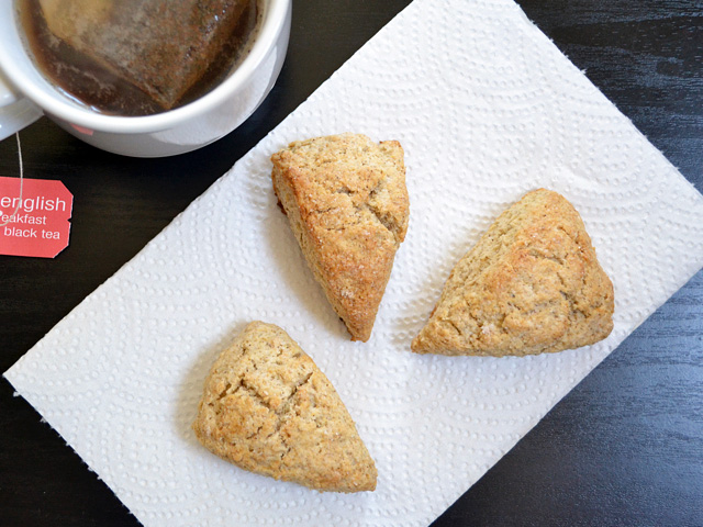 Chai Spiced Scones