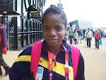 L'athèlete congolaise Ilunga Sankuru lors des Jeux olympiques 2012 à Londres