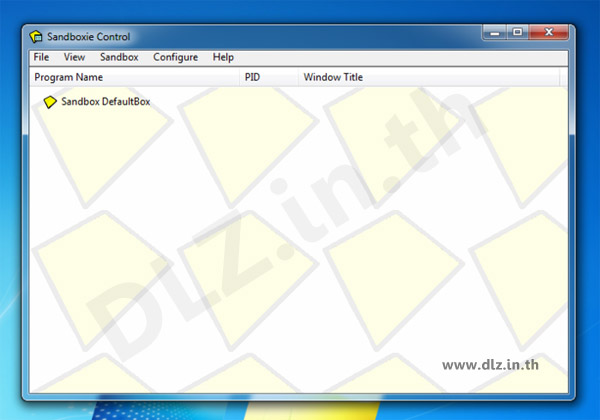 ดาวน์โหลด Sandboxie 4.16 โปรแกรมที่ให้ทำงานในพื้นที่ชั่วคราว
