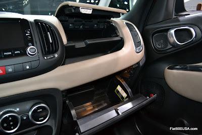 Fiat 500L glove boxes