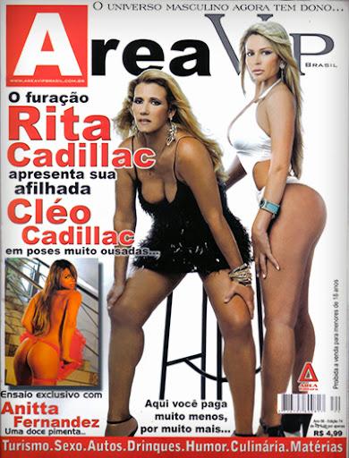 Cléo Cadillac – Revista Area Vip