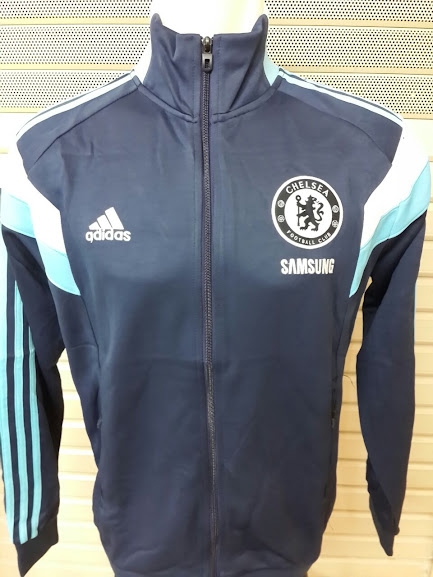 Jaket Chelsea Track Top Blue Navy 2014-2015