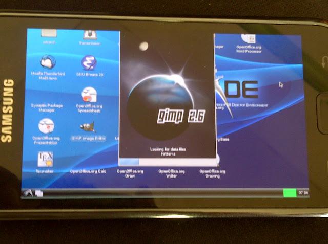 Gimp aplikasi Foto Editor umum di Ubuntu